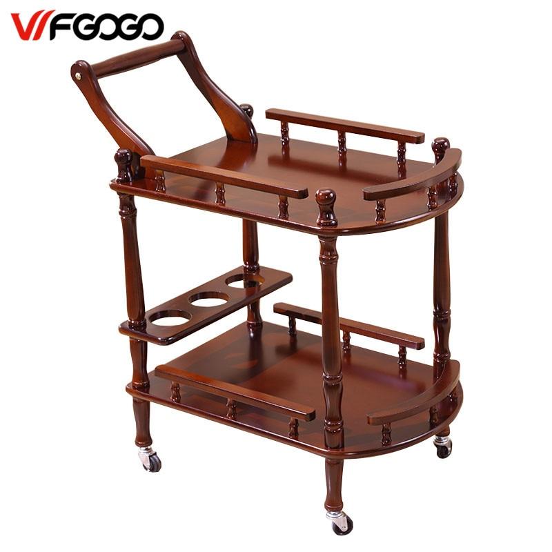 Wfgogo hotel trolley coffee tables storage holders multipurpose