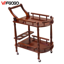 WFGOGO Hotel Trolley Coffee Tables Storage Holders Multipurpose Shelf Display Rack Corner Products Furniture Console Tables