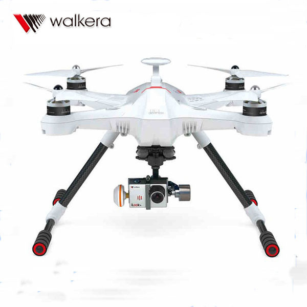 Walkera Scouts X4 GPS RC Quadcopter Drone FPV RTF Devo F12E G-3D Gimbal ILook + BLANCO EMS/DHL Envío Libre de FEDEX