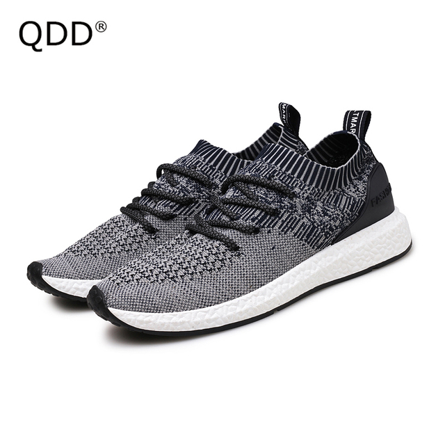 Fly Knit Running Shoes 2017 Autumn Outdoor Men Running Shoes