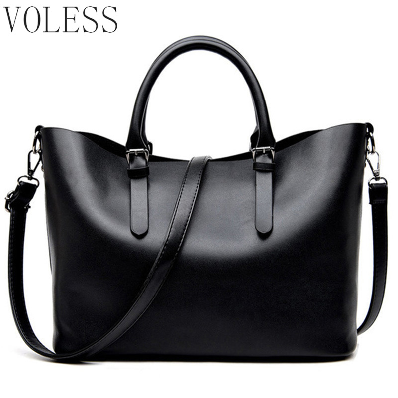 Fashion Hobos Women Bags Ladies Brand PU Leather Handbags large capacity Casual Totes Bag Shoulder Shopping Bags For Woman sac