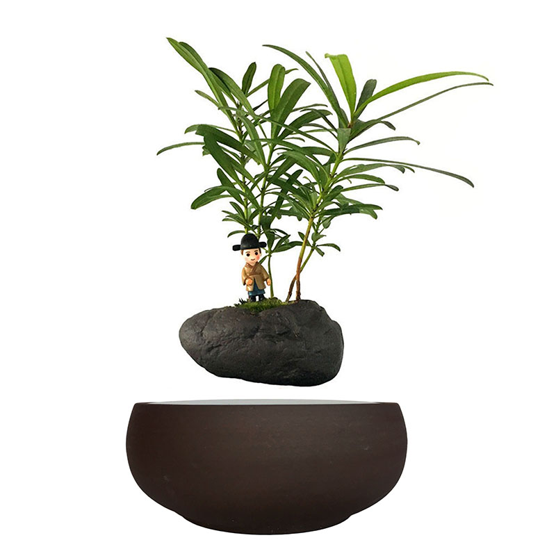Online buy wholesale microwave ceramic pot from china for Floating plant pots