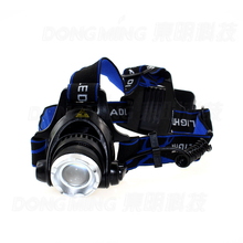 Rechargeable 2000LM XM-L T6 LED Zoomable Headlamp18650 Headlight frontale lamp Bike Bicycle head Flashlight Outdoor Camping