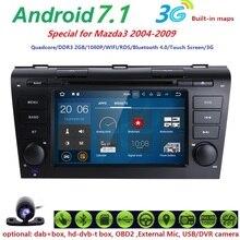 Android 7.1 OS AUTO Audio-DVD-spieler FÜR MAZDA 3 2004-2009 gps Multimedia head gerät einheit empfänger BT WIFI