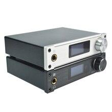 XMOS ALIENTEK D8 80 W * 2 Mini Hifi Stéréo Audio Numérique Casque Amplificateur Coaxial/Optique/USB DAC classe d Amplificateur + Alimentation