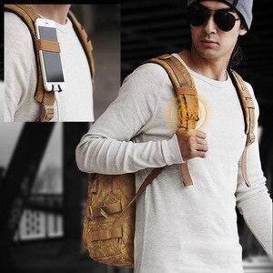 Image 5 - Рюкзак Muzee мужской, водонепроницаемый, для ноутбука 15,6 дюймов, с USB зарядкой