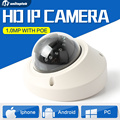 1.0MP Сеть HD Крытый Купол CCTV Камеры Безопасности 10 М ИК Vandalproof 720 P Ip-камера POE Onvif P2P Облако Android IOS XMEye Посмотреть