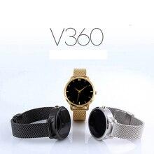 Luxus V360 Smart Bluetooth Uhr Smartwatch mit Led-anzeige Barometer Alitmeter Musik-player Schrittzähler für Android IOS Telefon