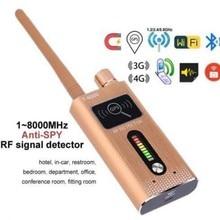 High Sensitivity Portable Wireless Signal Detector for 1.2G/2.4G/5.8Ghz Wireless Cam & 2G/3G/4G SIM Card & Hi-speed GPS Locator