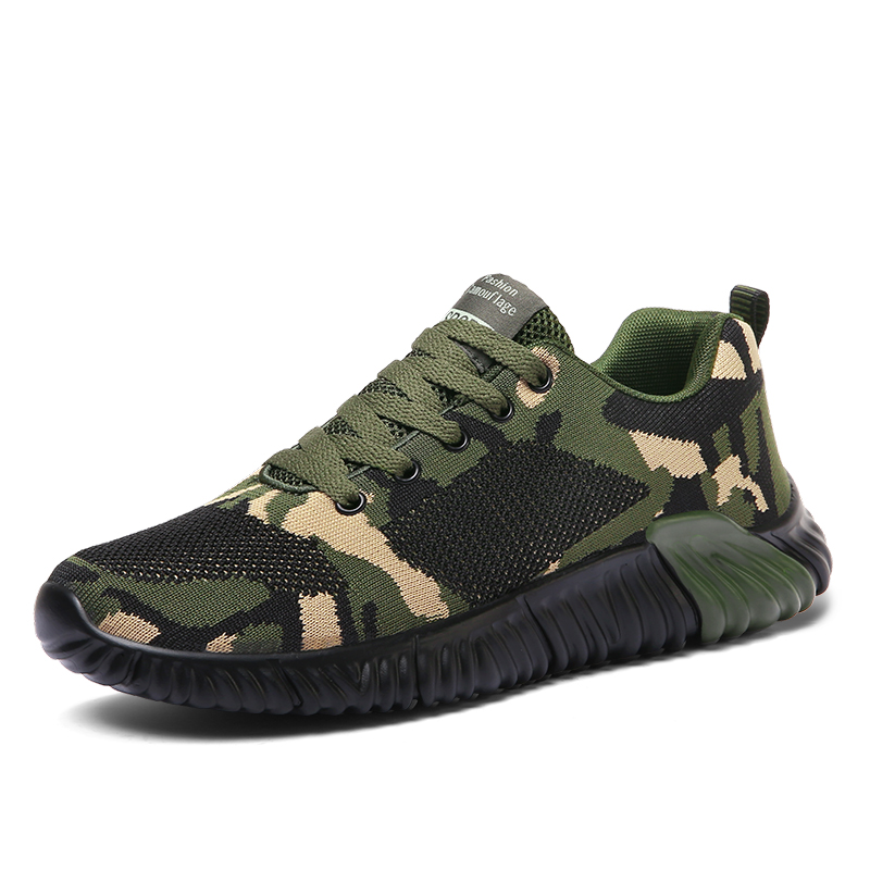 Sneakers Athletic-Shoes Tenis Women Light Brand Breathable Zapatillas Jogging Camouflage