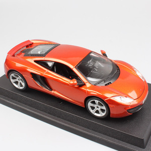 kids' 1:24 Scale brands sports racing cars Mclaren F1 MP4-12C coupe models Diecasts & Toy Vehicles cars bburago thumbnails gifts(China)