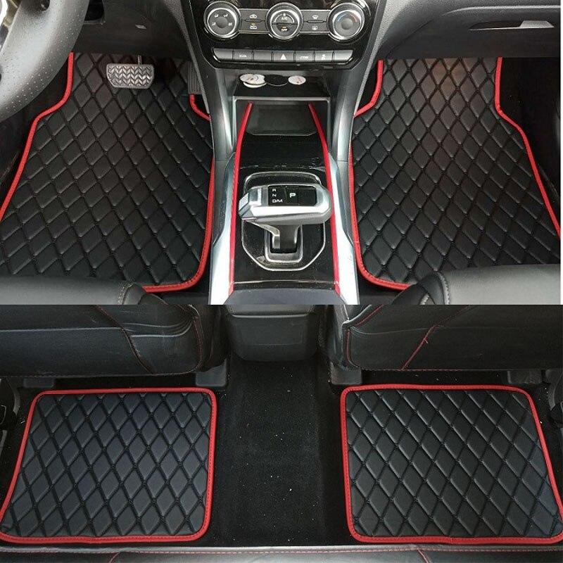 ZHAOYANHUA tapis de sol universels pour voiture tapis anti-dérapant tapis de voiture tapis de voiture style intérieur tapis Auto