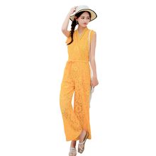Make womens new conjoined wide-legged pants  han edition cultivate ones morality with the summer bud silk skirt beach