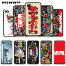 "WEBBEDEPP Марвел Супергерои из ""Мстителей"" мягкий чехол для телефона для Redmi Note 8 iPhone 7 6 Plus 5 iPad Pro 4A 5A 6A 8A 4X5 плюс S2 чехол s"