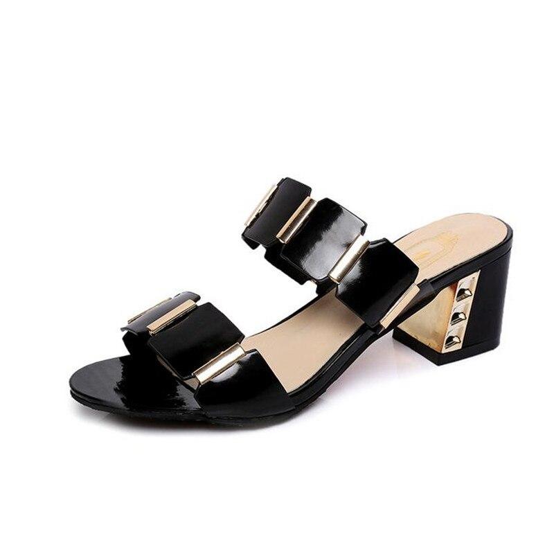 Бесплатная доставка 2017 Тапочки женские ся толщиной с PU с подбора цвета модные сандалии которых MS удобные тапочки