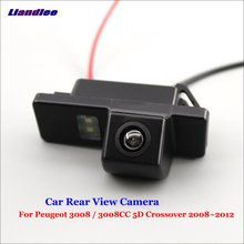 цена на Liandlee For Peugeot 3008 / 3008CC 5D Crossover 2008~2012 Car Rear View Backup Parking Camera Reverse Camera / SONY CCD HD