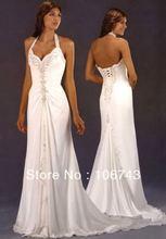 free shipping 2013 new style hot sale Sexy bride wedding sweet princess Custom size crystal pleat bridesmaid dress
