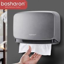 El çok katlı kağıt havlu tutacağı banyo aksesuarları duvara monte mutfak tutucu için kağıt havluluk anahtar açık doku kutusu