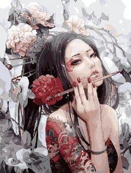 Digital painting hand-painted decorative painting OEM digital painting