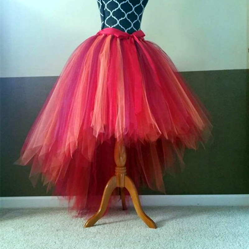Halloween Available tutu skirt Fully LINED red wine orange Tutu Adult tutu fairy cut edge bride tulle princess tutu skirt цена и фото