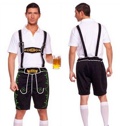 Free Shipping Free Shipping Mens Lederhosen Oktoberfest Octoberfest Bavarian German Beer Costume