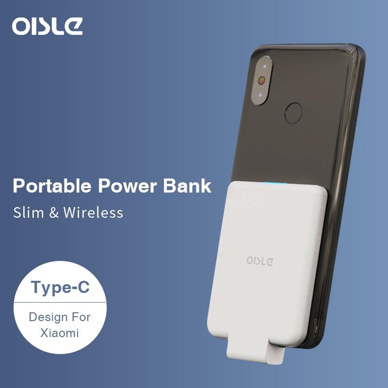 Batterie externe pour Xiao mi mi 9, 4500 mAh batterie externe Ultra mince chargeur Portable à chargement rapide USB type-c