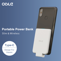 Power Bank for Xiaomi Mi 9, 4500mAh Ultra Thin External Battery Poverbank Fast Charging Portable Charger USB Type C