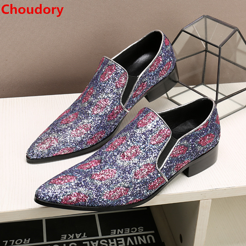 Здесь продается  Choudory mens shoes genuine leather sapato masculino pointy hidden heel shoes for men velvet dress shoes 2017 formal shoes men   Обувь