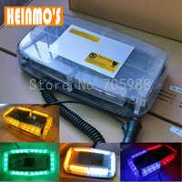LED Car Roof light led Flashing lamp car Strobe light led Emergency Light  New 24LED DC 12V