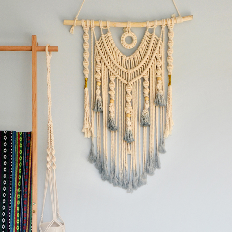 Woven Wall Hanging Macrame Wall Hanging Large Above Bed