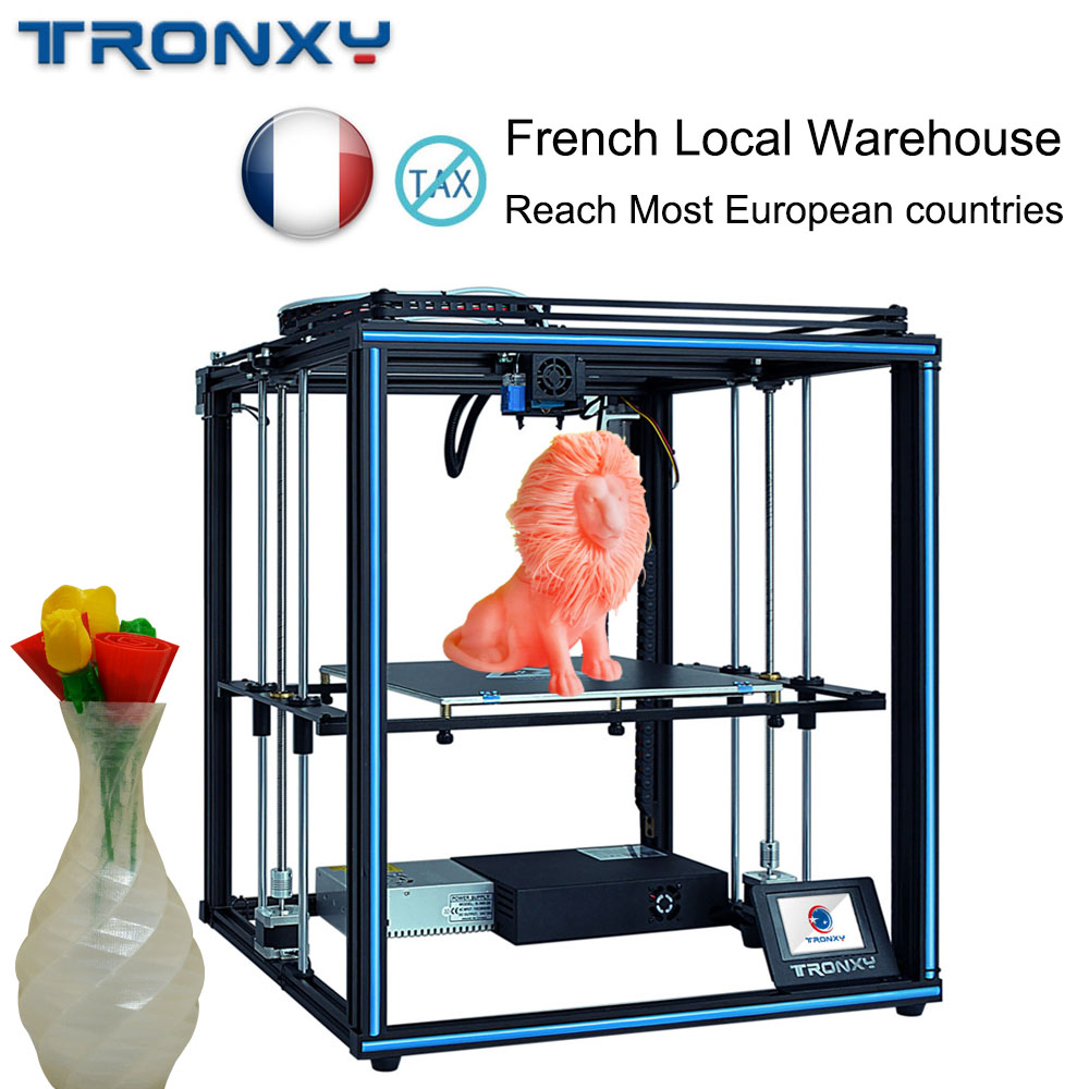 TORNXY Auto Leveling 3D Printer 3 D Kit DIY Print Size 330*330mm Bowden Extruder Print Filament Run Out Detection Upgraded X5SA image