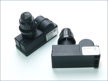 1.5V dc battery Push Button Igniter for bbq grill, 2(two) outlets electronic pulse generator, oven battery gas lighter