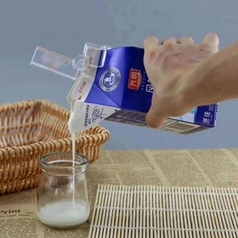 Hot Sale 2 Pcs/Lot Milk Seal Clips Multi-Functional Snacks Sealed Clips Keeping Food Fresh Sealed Food Close Clip Box Folder