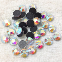 Hot Sale 1440pcs SS20 DMC Crystal Clear AB Iron On Hotfix Rhinestones With Glue Transfer Flatback