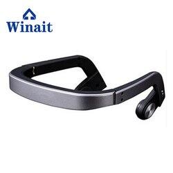 hot selling Earphone Bone Conduction Bluetooth Headset Sports Headphones Earphone Built-in Microphone