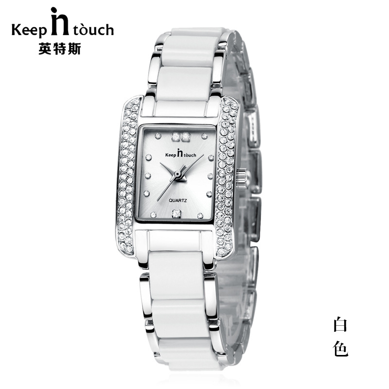 Watch Women brand luxury Fashion Casual quartz ceramic watches Lady relojes mujer women wristwatches Girl Dress clock 	K8453 weiqin new 100% ceramic watches women clock dress wristwatch lady quartz watch waterproof diamond gold watches luxury brand