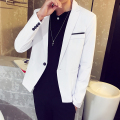 new 2016 autumn Jacket Blazer Cotton all-match Slim korean long sleeve handsome Suits Plus Size High Quality Casual Jacket M-3XL