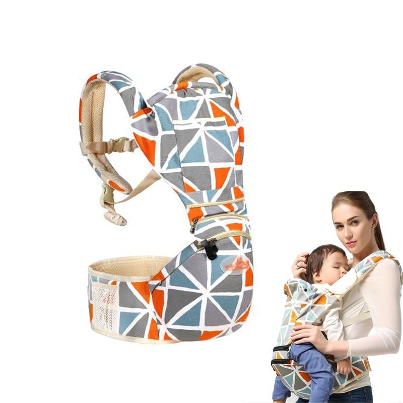 Baby Carrier Ergonomiczny Przewoźnik Pozycje Pas biodrowy Sling Belt - Aktywność i sprzęt dla dzieci - Zdjęcie 2
