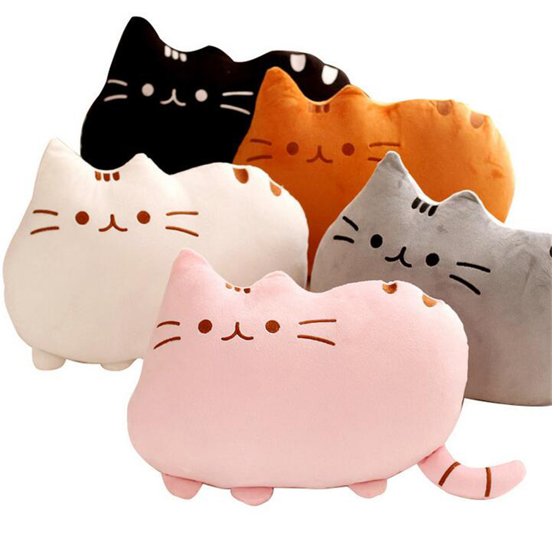 25cm-Plush-Toy-Atuffed-Animal-Doll-Anime-Toy-Cat-for-Girl-Kid-Kawaii-Cute-cushion-Car