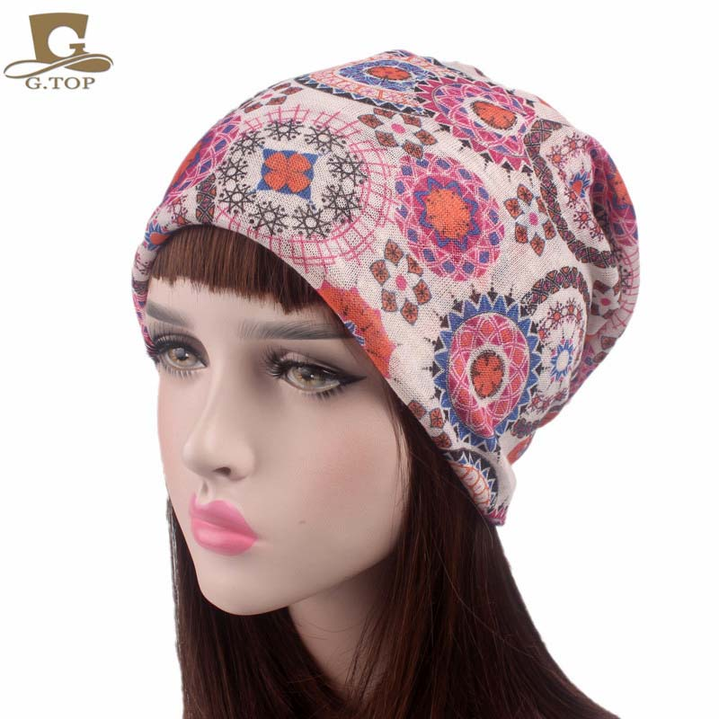 2017 New fashion Autumn and winter Women's Elegant Floral Lace cotton Turban Cap scarf dual-use hat Chemo Cancer Beanie Cap viruses cell transformation and cancer 5