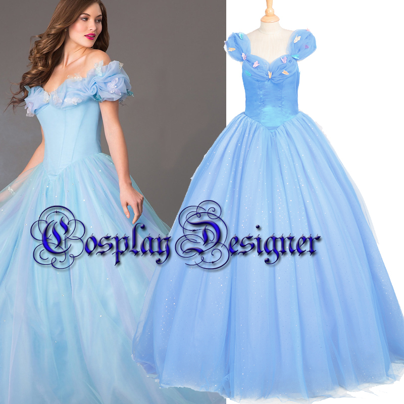 2015 halloween costumes for women adult movie Cinderella big gown party princess dress Princess Cinderella cosplay costume on Aliexpress.com | Alibaba Group  sc 1 st  AliExpress.com & 2015 halloween costumes for women adult movie Cinderella big gown ...