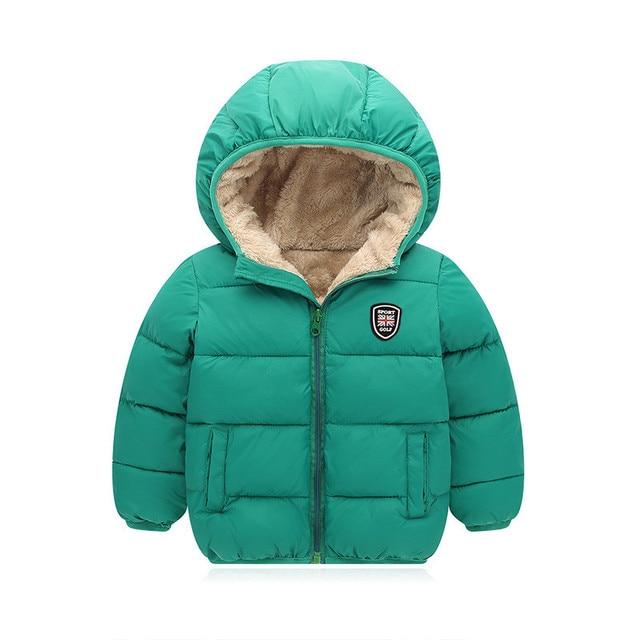 c29f6b4eff14 BibiCola children cotton outerwear winter jackets boys coat thick ...