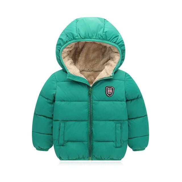 5eb432200c24 BibiCola children cotton outerwear winter jackets boys coat thick ...