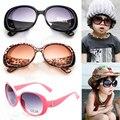 New elegante moda meninas bonitos do bebê crianças óculos de sol óculos óculos de presente para as crianças o transporte da gota