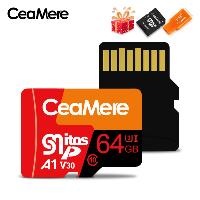 Image 3 - CeaMere Micro SD Card  Class10 UHS 1 8GB Class6 16GB/32GB U1 64GB/128GB/256GB U3 Memory Card Flash Memory Microsd for Smartphone-in Memory Cards from Computer & Office