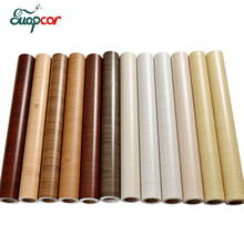 3mx0.6m Vintage wood vinyl self adhesive wallpaper Old Furniture decorative film Kitchen cabinet door pvc waterproof stickers