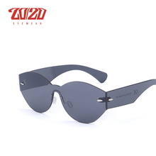 Retro Flat Top Round Design Vintage Shades Sunglasses for Men & Women