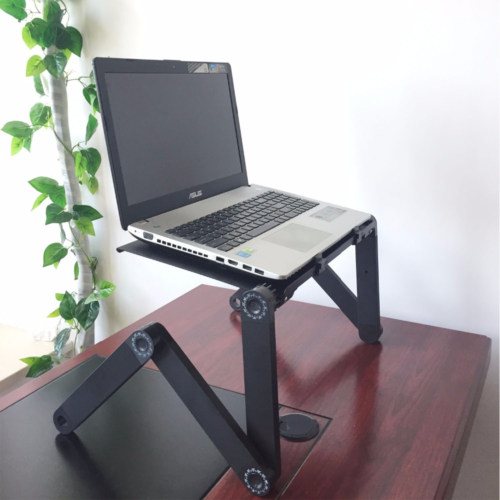 adjustable computer product degree table foldable desk tray for bed laptop stand
