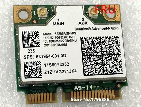 SSEA новая карта PCI-e для Intel Advanced-N 6205 half Mini для Thinkpad x220 x220i x220t T430s T430i T520 L421 L520 60Y3253