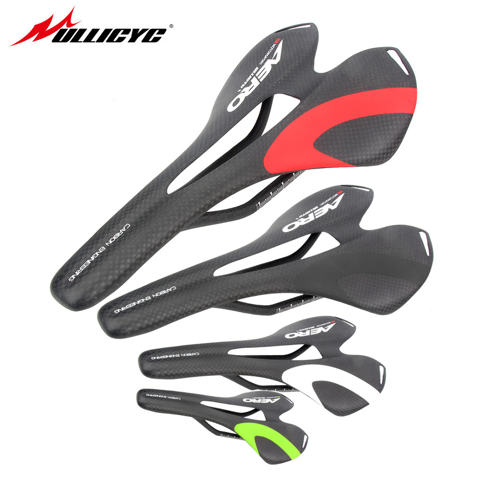 New Colorful Ullicyc Top-level Mountain Bike Full Carbon Saddle Road Bicycle Saddle MTB Front Sella Sillin Seat Matround ZD136